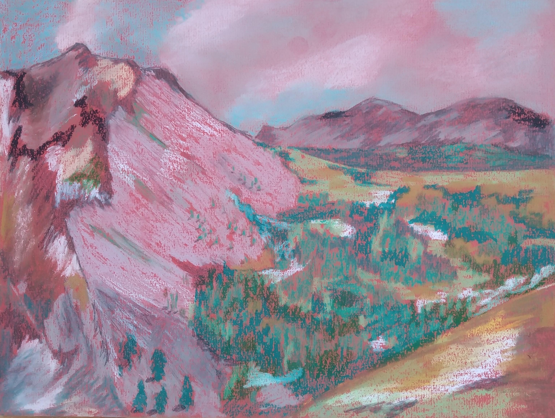 Pastels montagnes